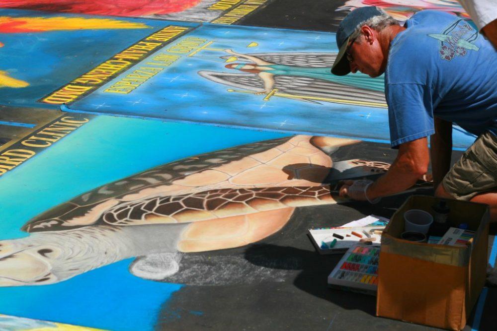 I Madonnari Chalk Festival